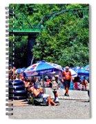A Norcal River Beach Spiral Notebook