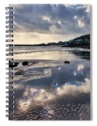 A November Afternoon At Lyme Regis Spiral Notebook