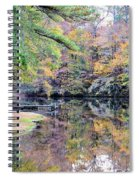 A November Memory 2012 - L Spiral Notebook