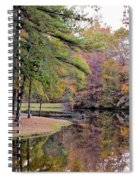 A November Memory 2012 - P Spiral Notebook