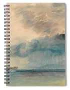 A Paddle-steamer In A Storm Spiral Notebook