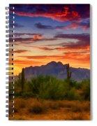A Painted Desert  Spiral Notebook