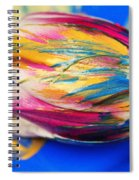 A Painted Tulip. Spiral Notebook