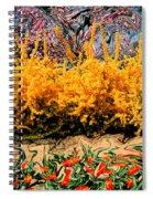 A Painting Springtime 2 Dali-style Spiral Notebook