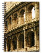 A Painting The Colosseum Spiral Notebook