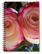 A Pair Of Roses  Spiral Notebook