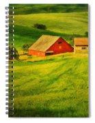 A Palouse Farm Spiral Notebook