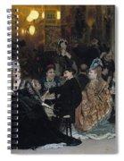 A Parisian Cafe Spiral Notebook