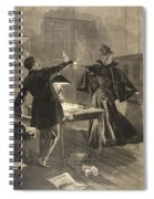 A Parisien Drama, Illustration From Le Spiral Notebook