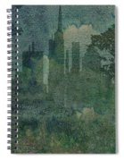 A Park In The City Spiral Notebook