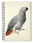 A Parrot Spiral Notebook