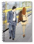 A Passing Fancy Spiral Notebook
