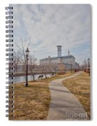 A Path To The Factory Spiral Notebook