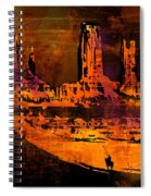 A Pause In Monument Park Spiral Notebook
