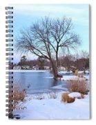 A Peaceful Winter Day Spiral Notebook