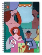 A Peaceful World For Our Children Spiral Notebook