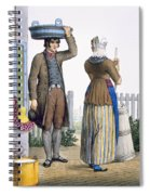 A Peasant Couple Of Parmerend, North Spiral Notebook