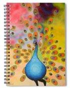 A Peculiar Peacock Spiral Notebook