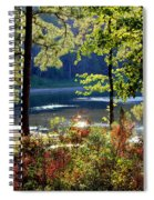 A Peek At Lake O The Pines Spiral Notebook