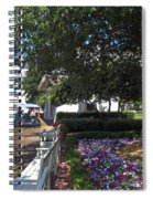 A Perfect Day On The Boardwalk Walt Disney World Spiral Notebook