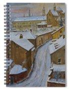A Perfect Winter Night Spiral Notebook