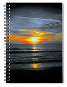 A Phoenix Firebird Sunset Spiral Notebook
