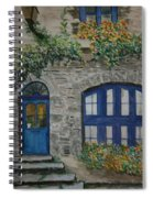 A Picturesque Corner Of France Spiral Notebook