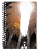 The Light Of Heaven On Earth Spiral Notebook