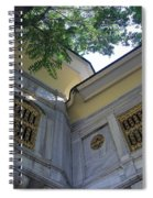 A Place To Watch The World Go By Spiral Notebook
