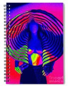 A Pop Of Gaultier Spiral Notebook
