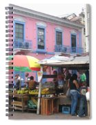 A Pop Of Tropical Color Spiral Notebook