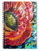 A Poppy Takes Center Stage Spiral Notebook