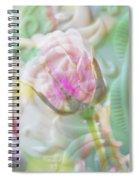 A Porcelain Rose Spiral Notebook