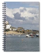 A Postcard From St Ives Spiral Notebook