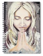 A Prayer... Spiral Notebook