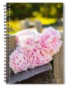 A Pretty Gathering Spiral Notebook