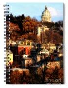 A Providence Hillside Spiral Notebook