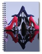 A Pyramid Of Shoes Spiral Notebook