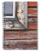 A Quarter Window Spiral Notebook