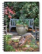 A Quiet Place To Meet Spiral Notebook