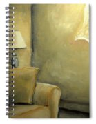 A Quiet Room Spiral Notebook