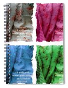 A Quilt Will Warm Your Body And Comfort Your Soul Spiral Notebook