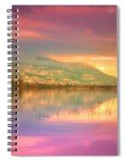 A Rainbow Morning Spiral Notebook