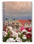 A Rainy Day In Prague 2 Spiral Notebook