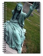 A Raised Hand -- Thomas Trueman Gaff Memorial -- 2 Spiral Notebook