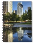 A Reflection Of Chicago Spiral Notebook