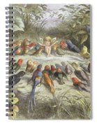 A Rehearsal In Fairy Land, Illustration Spiral Notebook