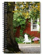 A Relaxing Finnish Afternoon Spiral Notebook