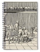 A Respiration Experiment Spiral Notebook
