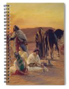 A Rest In The Desert Spiral Notebook